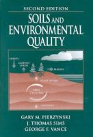 Cover image for Soils and environmental quality