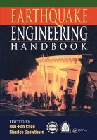 Cover image for Earthquake engineering handbook