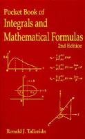 Cover image for Pocket book of integrals and mathematical formulas
