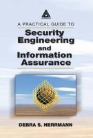Cover image for A practical guide to security engineering and information assurance