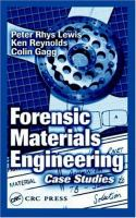 Cover image for Forensic materials engineering : case studies