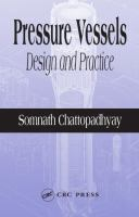 Cover image for Pressure Vessels : design and practice