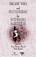 Cover image for Organic soils and peat materials for sustainable agriculture