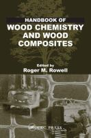 Cover image for Handbook of wood chemistry and wood composites