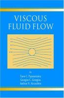 Cover image for Viscous fluid flow
