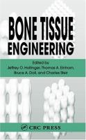 Cover image for Bone tissue engineering
