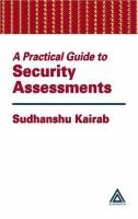 Cover image for A practical guide to security assessments