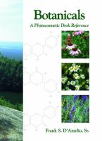 Cover image for Botanicals : a phytocosmetics desk reference