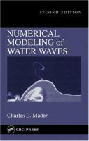Cover image for Numerical modeling of water waves