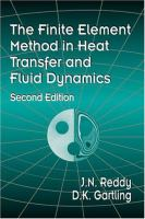Cover image for The finite element method in heat transfer and fluid dynamics