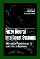 Cover image for Fuzzy neural intelligent systems : mathematical foundation and the applications in engineering