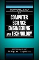 Cover image for Dictionary of computer science, engineering and technology