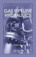 Cover image for Gas pipeline hydraulics