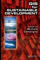 Cover image for GIS for sustainable development