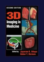 Cover image for 3D imaging in medicine