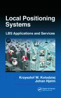 Cover image for Local positioning systems : LBS applications and services