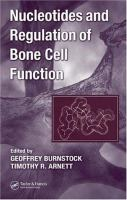 Cover image for Nucleotides and regulation of bone cell function