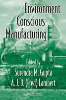 Cover image for Environment conscious manufacturing