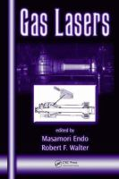 Cover image for Gas lasers
