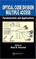 Cover image for Optical code division multiple access fundamentals and applications