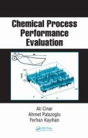 Cover image for Chemical process performance evaluation
