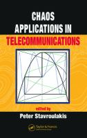 Cover image for Chaos applications in telecommunications