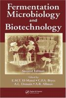 Cover image for Fermentation microbiology and biotechnology