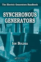 Cover image for Synchronous generators : the electric generators handbook