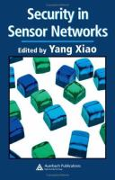 Cover image for Security in sensor networks