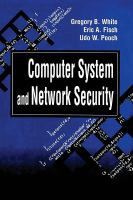 Cover image for Computer system and network security