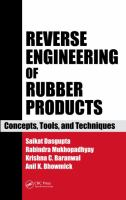 Cover image for Reverse engineering of rubber products : concepts, tools and techniques