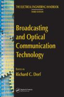 Cover image for The electrical engineering handbook : broadcasting and optical communication technology