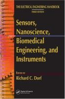 Cover image for Sensors, nanoscience, biomedical engineering, and instruments