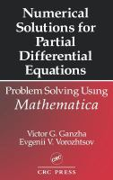 Cover image for Numerical solutions for partial differential equations : problem solving using mathematica