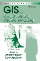Cover image for GIS for environmental decision-making