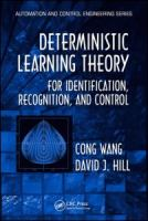 Cover image for Deterministic learning theory for identification, control, and recognition