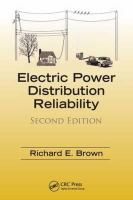 Cover image for Electric power distribution reliability