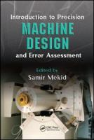 Cover image for Introduction to precision machine design and error assessment