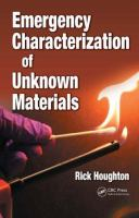 Cover image for Emergency characterization of unknown materials