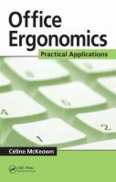 Cover image for Office ergonomics : practical applications