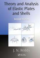 Cover image for Theory and analysis of elastic plates and shells