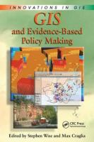 Cover image for GIS and evidence-based policy making