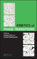 Cover image for Kinetics of phase transitions