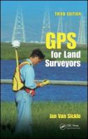 Cover image for GPS for land surveyors