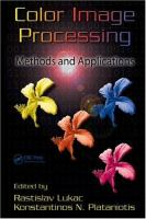 Cover image for Color image processing : methods and applications