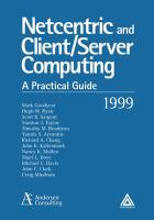 Cover image for Netcentric and client/server computing : a practical guide