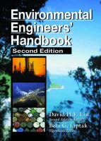 Cover image for Environmental engineer's handbook