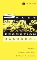 Cover image for The Dartnell sales promotion handbook