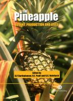 Cover image for The pineapple: botany, production, and uses