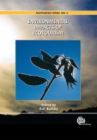 Cover image for Environmental impacts of ecotourism
